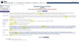 """Código arancelario para el producto """"puertas"""" Taric"""