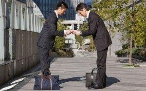 Protocolo negocios japon