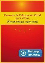 Contrato de fabricación en China