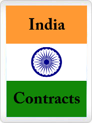 India contracts